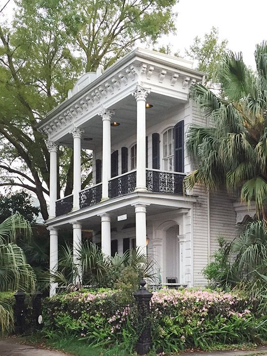 walking guide for new orleans architecture / sfgirlbybay