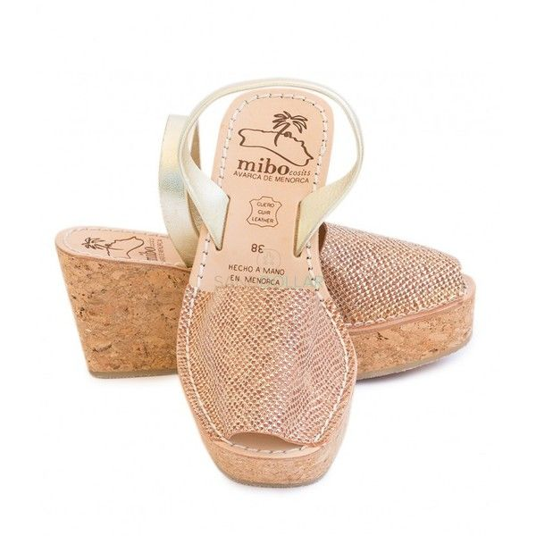 Mibo Womens Borges Salmon Wedge ($90) ❤ liked on Polyvore featuring shoes, sandals, summer sandals, summer footwear, wedge heel sandals, checkered shoes and checkerboard shoes