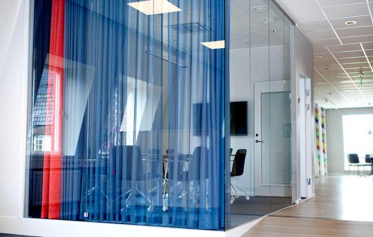 FLEX GLASSLINE En vägglösning som uppfyller ljus- och designkrav.
