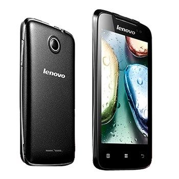 """A dual-core processor, large 4"""" screen and Android™ 4.0 Ice Cream Sandwich OS make the Lenovo A390 mobile phone way more than a basic smartphone and deliver a smooth experience when enjoying your favorite apps and games."""