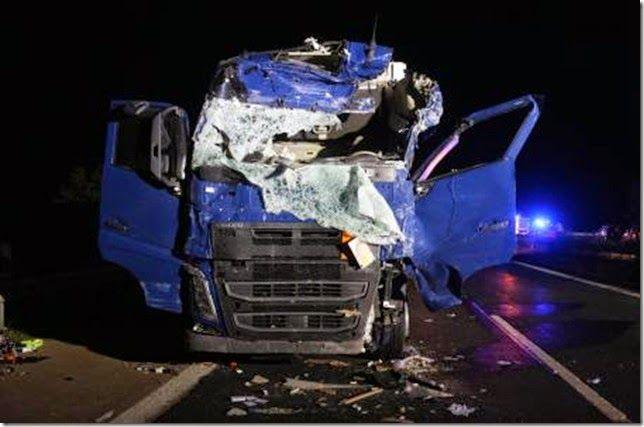 Sind unsere Autobahnen gefährlich?: Tödlicher Unfall auf der A7 bei Schondra