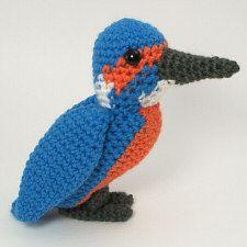 Kingfisher crochet pattern