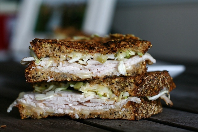 Smoked Turkey Reubens | REUBENS! | Pinterest