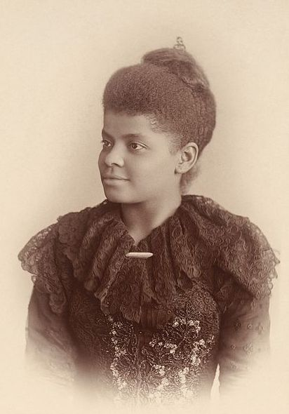 "Photo: Ida B. Wells, by Mary Garrity, c. 1893. Source: Wikimedia Commons. Read more on the GenealogyBank blog: ""4 African American Women Heroes."" https://blog.genealogybank.com/4-african-american-women-heroes.html"