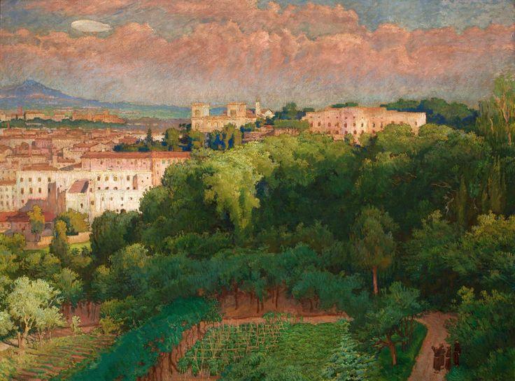 Roman epic by Józef Mehoffer, 1925 (PD-art/70), Muzeum Narodowe w Krakowie (MNK)
