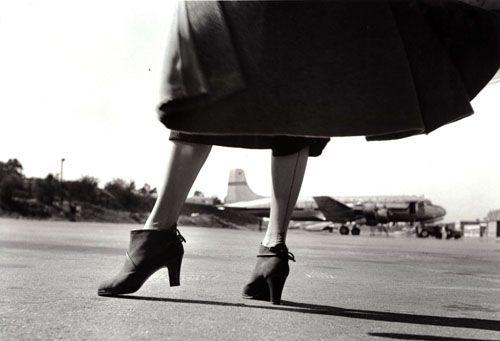 Skor från Hästen, fotograferade på flygplats. Foto: Kerstin Bernhard