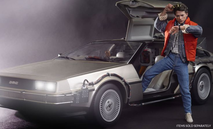The Marty McFly Sixth Scale Figure from Hot Toys now available at Sideshow.com for fans of Back to the Future and Universal Studios.