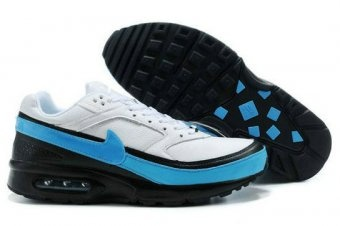 reputable site bf1a5 47b4e ... Cheap Purchase Nike Air Max Classic BW 91 Mens White Black And Blue  Sneaker Sports Direct ...