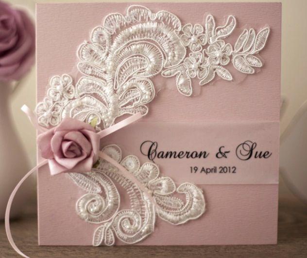 Lace invite
