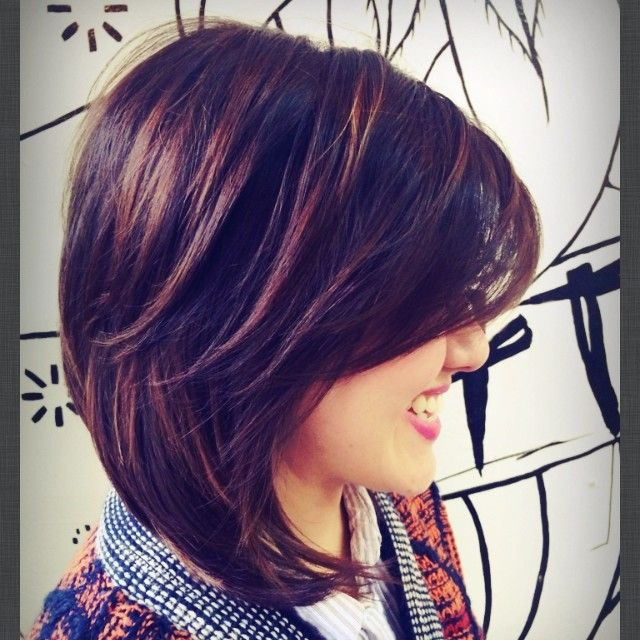 CHOCOLATE & CARMEL TONES... Short, Textured layers