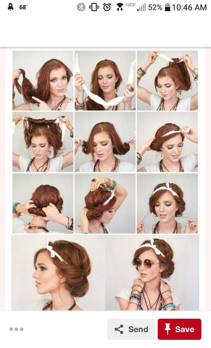 Hair scarf trend