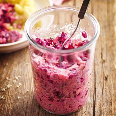 Rote-Bete-Salat mit Matjes Rezept | Küchengötter