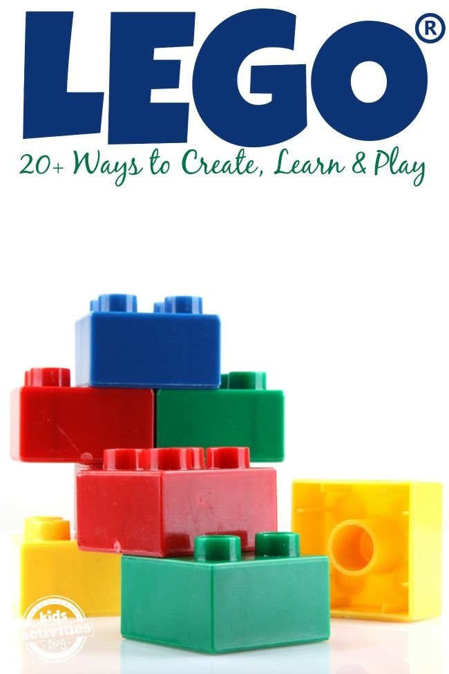 Build LEGOs - Lots of Ways to Create Learn and Play - Kids Activities Blog - pinned by @PediaStaff – Please Visit ht.ly/63sNtfor all our pediatric therapy pins