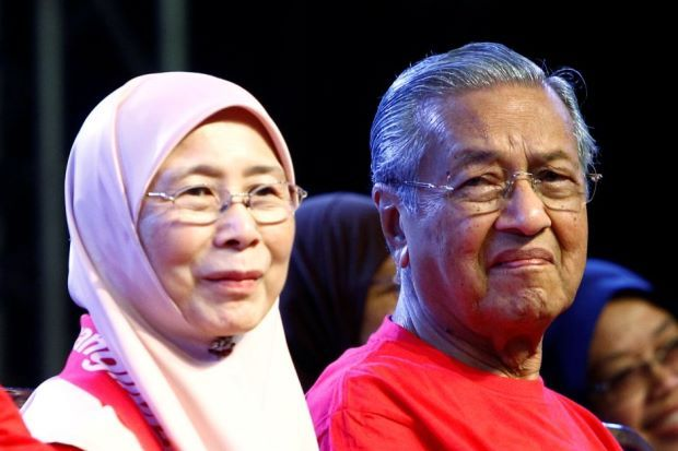 Pakatan's proposal for Dr M and Wan Azizah to lead country meets opposition - Nation   The Star Online     PETALING JAYA: Pakatan Harapan has formally proposed Tun Dr Mahathir Mohamad as its candidate for prime minister and Datuk Seri Dr Wan Azizah Wan Ismail as his deputy if the coalition triumphs in the next general election.