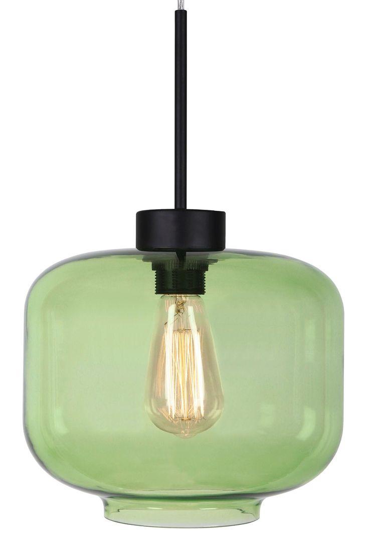 Taklampa Ritz gjord i glas med detaljer i metall och transparent kabel. Höjd 22 cm. Diameter 25 cm. Lamphållare E27. Max 60W. Ljuskälla ingår ej. Design: Tess Palm