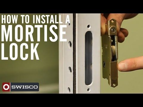 DIY Video: How To Install A Sliding Patio Glass Door Mortise Lock · American  CraftsmanMortise ...