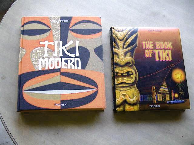 My BIBLEs! ;) http://www.amazon.com/Tiki-Modern-Sven-A-Kirsten/dp/3822847178 - http://www.amazon.com/The-Book-Tiki-Sven-Kirsten/dp/382282433X