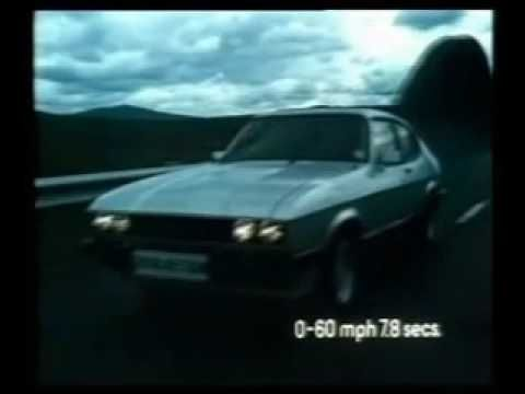 1981 Ford Capri 2.8i Injection television advert - YouTube