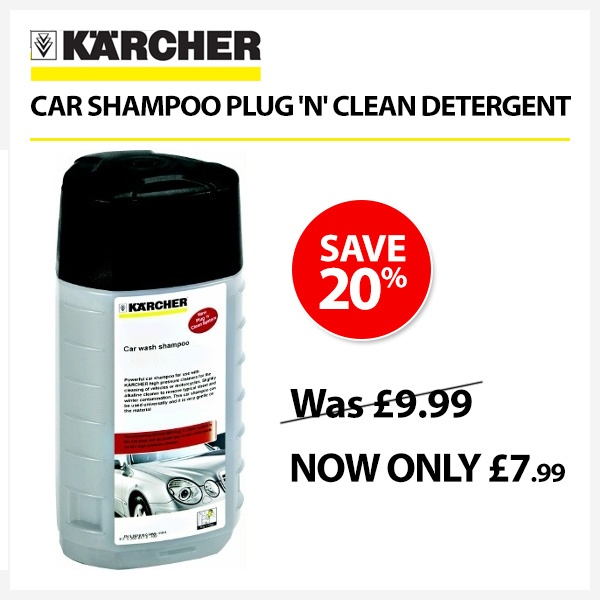 Great savings on selected Karcher accessories!