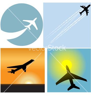 Airline travel passenger vector 91319 - by michaeldb on VectorStock®