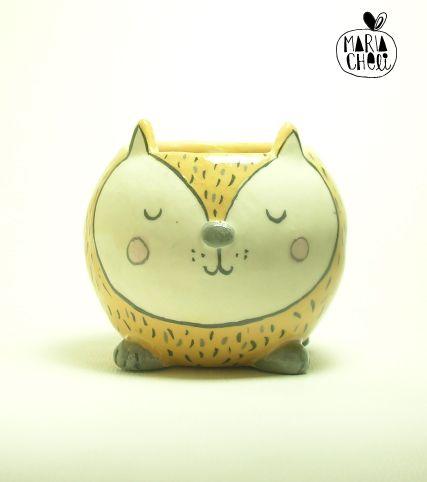 Gatito cerámica