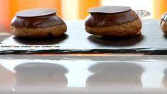 """La ricetta dei bignè al cioccolato con mousseline di cannella proposta da Luca Montersino in """"Peccati di gola"""", il programma di Alice Tv…"""