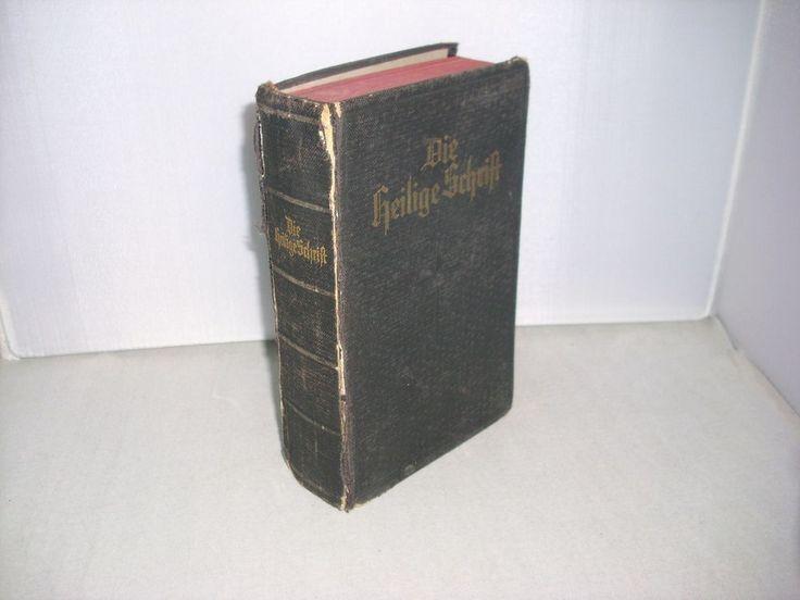 Die Heilige Schrift Die Bibel 1933 nach Luther PWB Stuttgart