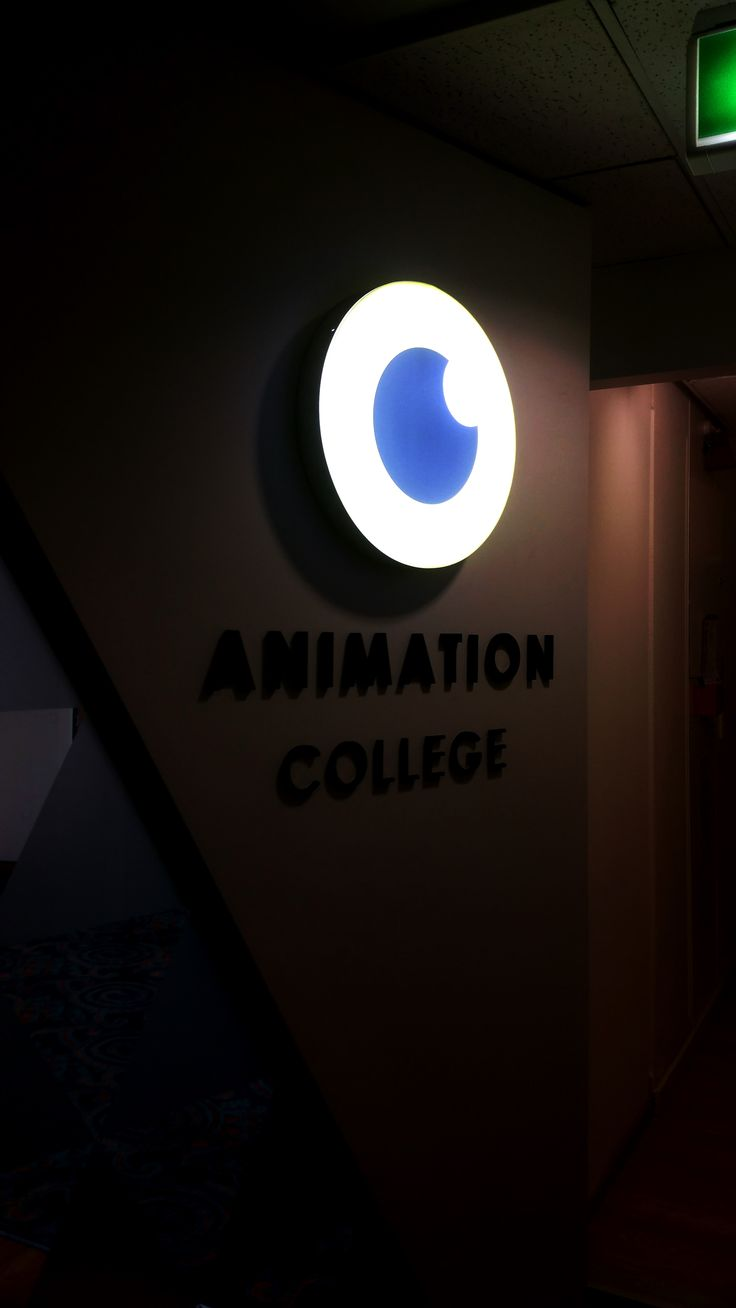 Lightbox for Animation College by Speedy Signs Newton