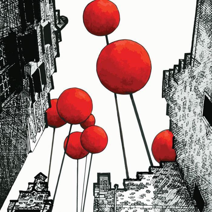 Balloon City - Street Art