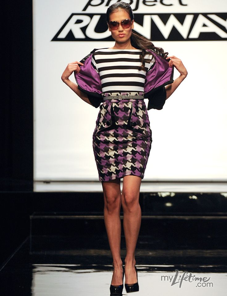 Mondo is one of my fave designers from Project Runway. This is one of his outfits that won me over