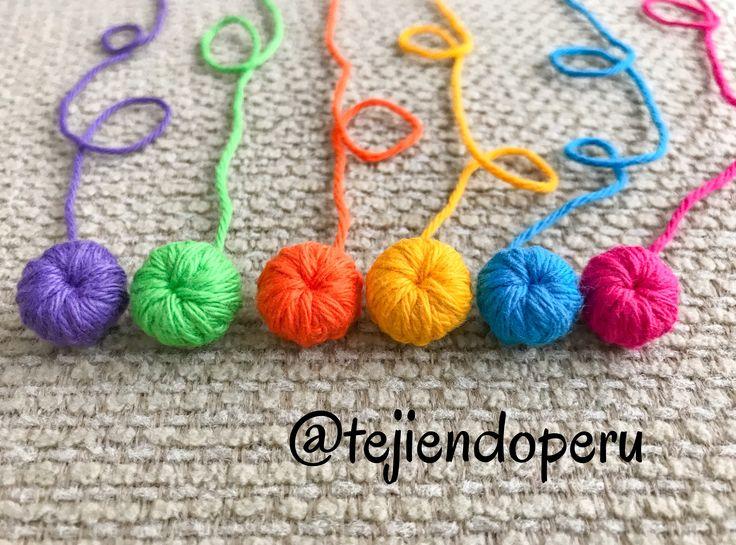 Cómo tejer un botón a crochet... ¡fácil y muy rápido!