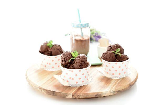 Helado de chocolate negro | Velocidad Cuchara