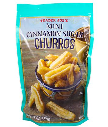 The BEST Trader Joe's Products For Your Super Bowl Bash #refinery29  http://www.refinery29.com/party-food#slide-5  Mini Cinnamon Sugar ChurrosYou'll wonder how you ever had a churro-less get-together before....