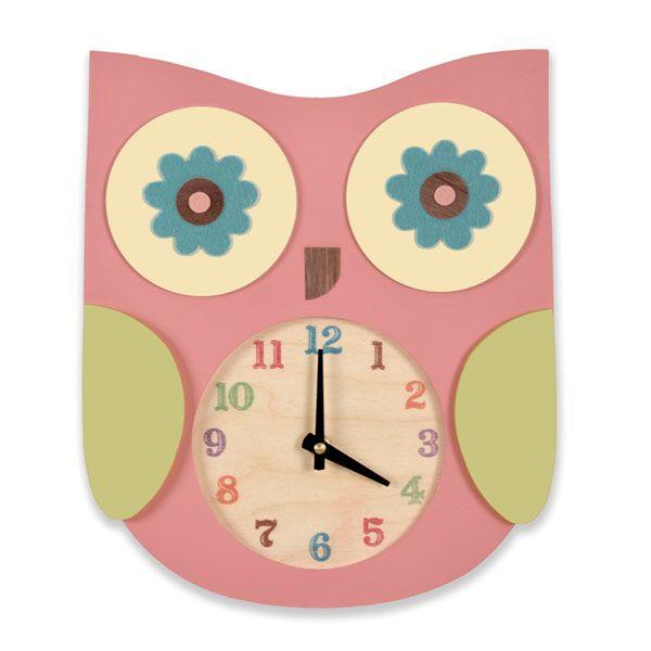 Tree By Kerri Lee Owl Clock|WellnessBaby