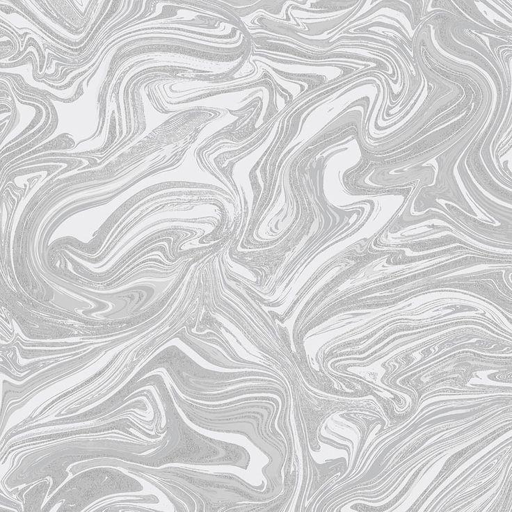 Henderson Interiors Prosecco Sparkle Marble Wallpa Henderson Interiors Love Marble Prosecco White And Silver Wallpaper Metallic Wallpaper Silver Wallpaper