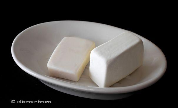 Receta tradicional del jabón de la abuela Rosario, que es el jabón casero natural de sosa cáustica con aceite gastado, (AOVE para uso corporal).