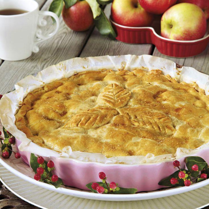 Bjud på en riktig amerikansk klassiker - apple pie! Foto Roger Olsson