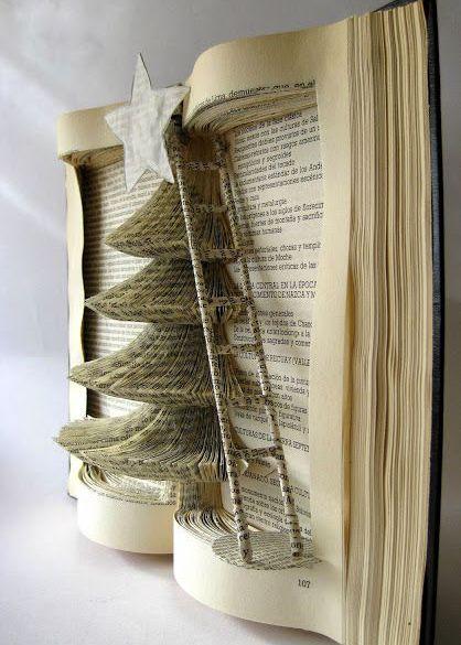 Découpe dans un livre