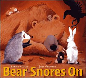 Mommy and Me Book Club: Bear Snores On   Lots of different ideas