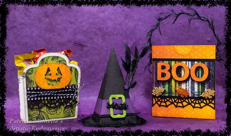 Happy Halloween! Now Gimme Some Candy! #halloween #halloweencrafts #papercrafts