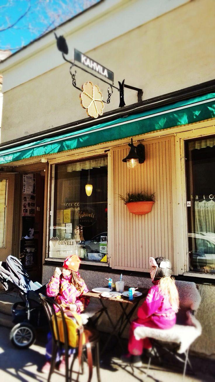Vohvelikahvila Café Tampere, Finland