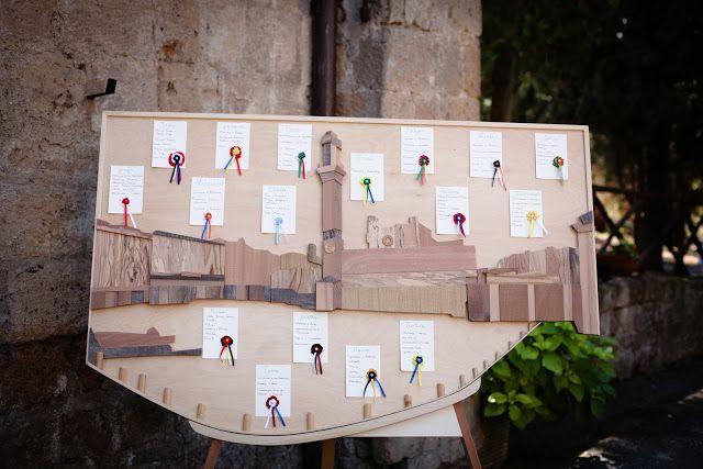 Tableau de mariage - Siena