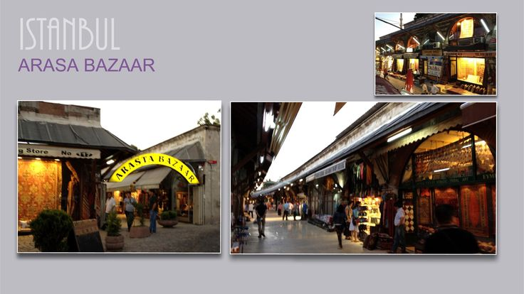 Arasa Bazaar below Blue Mosque