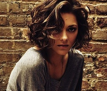 Short curly hair; this isn't bad. But I know if I go this loose, I will lose the curls quickly.