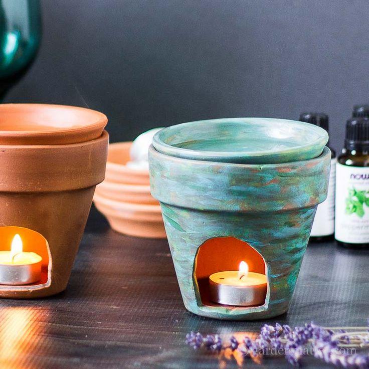 DIY: essential oil diffuser