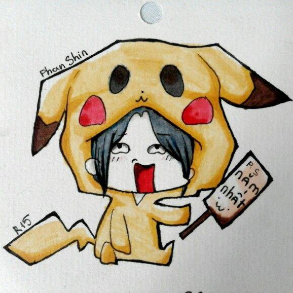 #chibi #pikachu #cute