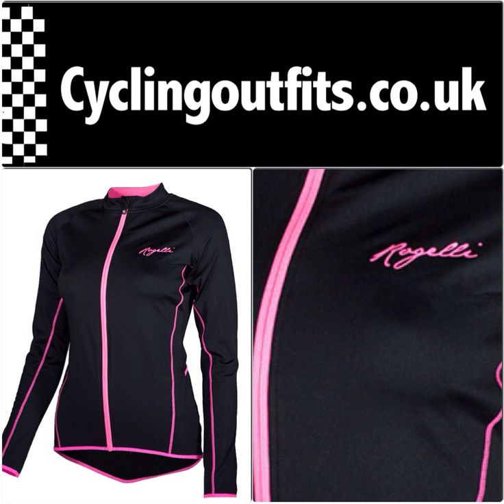 Rogelli Benice, a very stylish long sleeve to make cycling girls feel comfortable and look great!
