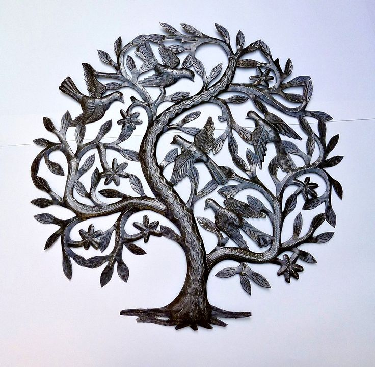 The Gecko Shack - The Tree of Life Recycled Steel Drum Art 60cm , $169.00 (http://www.geckoshack.com.au/the-tree-of-life-recycled-steel-drum-art-60cm/)