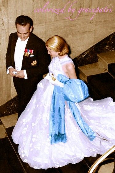 Prince Rainier and Princess Grace of Monaco