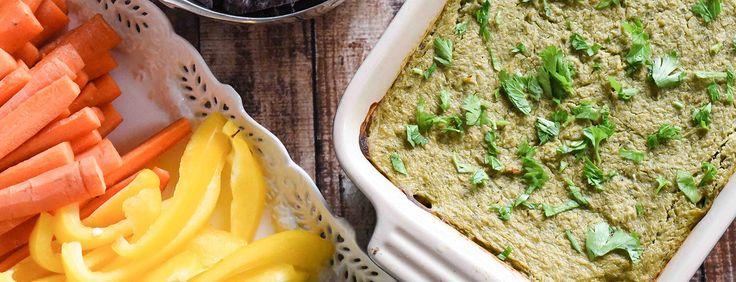 Healthy Spinach Artichoke Dip - Plant-Based Vegan Recipe